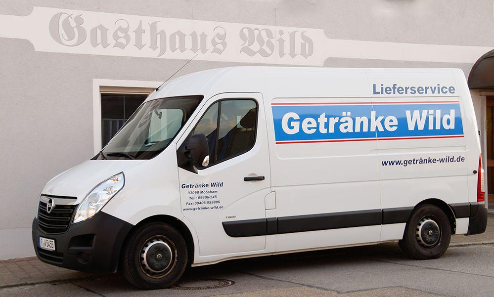 Gasthaus Walter Wild -  lieferwagen